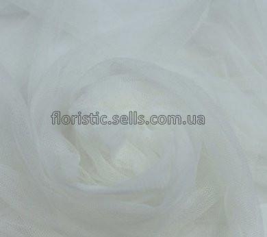 Фатин 1/3 м, белый