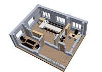 3D моделирование и анимация коммерческой недвижимости