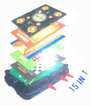 Настольная мульти игра 15 in 1 Games 623А, фото 2