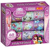 """Наліпки у коробці Дісней """"Принцеси 2"""" 5921"""