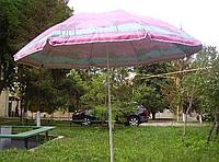 Зонт пляжный D2.0мсеребро МН-0039