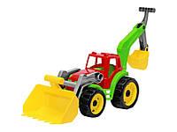 """Іграшка """"Трактор з двома ковшами ТехноК"""", арт. 3671"""