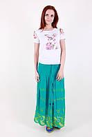 Яркая стильная женская летняя юбка