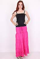 Стильная женская юбка розового цвета