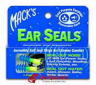 Беруши Mack's Ear Seals мягкие 11 (27 дб) №1 (защита от шума и воды) (2000116) 108404067