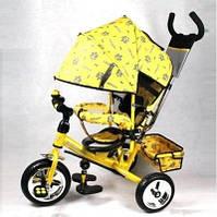 Велосипед Profi Trike, желтый с золотым M 0448-4