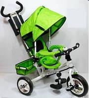 Велосипед Profi Trike, зеленый M 0448-2