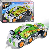 Конструктор BANBAO 8616 гоночный автомобиль, инерционный (110 деталей)