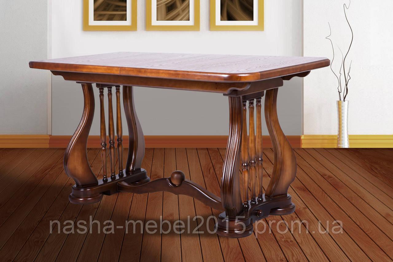 Стол обеденный деревянный раскладной Арфа