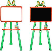 Мольберт магнитный двухсторонний 013777/3 (Оранжево-зеленый)