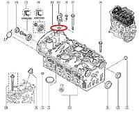 Кольцо уплотнительное под датчик фазореулятора Renault Megane II 1.6i 16V K4M. Оригинал 8200162970
