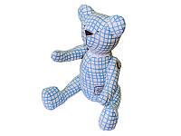 Мишка Прованс # AndreTan голубая клетка