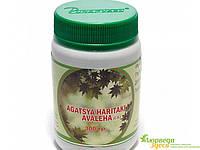 Агастья Харитаки авалеха расаянам 300 g, Agastya Haritaki Rasayanam, Nej Biotech, лечение хронического бронхит