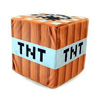 Подушка TNT Minecraft  20х20х20 см