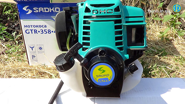Четыехтактная мотокоса Sadko GTR-358 4T - двигатель OHC