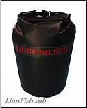 Гермомешок LionFish.sub Рюкзак на 70л, у баула имеется ручка и пара плечевых ремней, фото 7