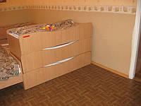 Кровать детская 3-х ярусная роздвижная