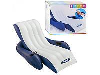 Кресло-шезлонг надувное пляжное, Intex