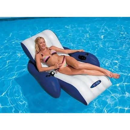 Кресло-шезлонг надувное пляжное Intex, фото 2