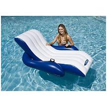 Кресло-шезлонг надувное пляжное Intex, фото 3