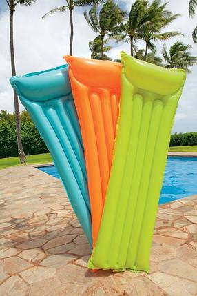 Пляжный надувной матрац, Intex, фото 2
