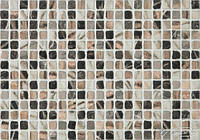 Ecoceramic плитка Ecoceramic Roman Mosaic 31,6x45 plata