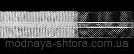 Драпировочная лента (шторная тесьма) шир. 2,5 см, органза