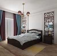 Кровать полуторная Лилия с ящиками