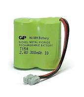 Аккумулятор для телефона GP Т154-U1 (2,4V, 300mAh, аналог Т104)