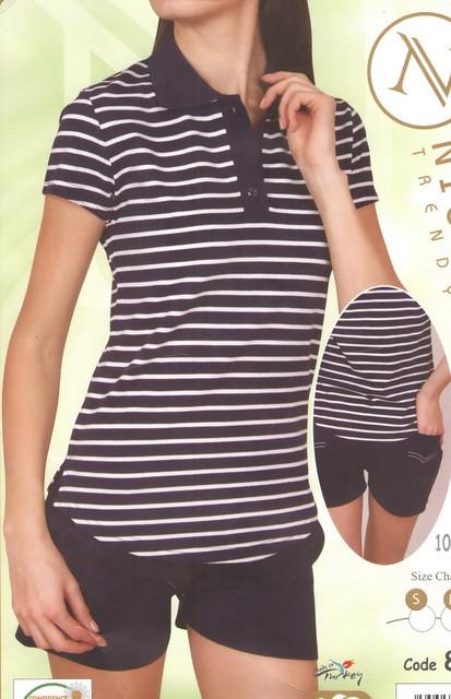 Комплекты женские шорты - майка (футболка) для дома