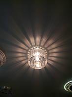 """Встраиваемый светильник Feron CD 2111 G9 с ореолом """"солнечные лучи"""""""