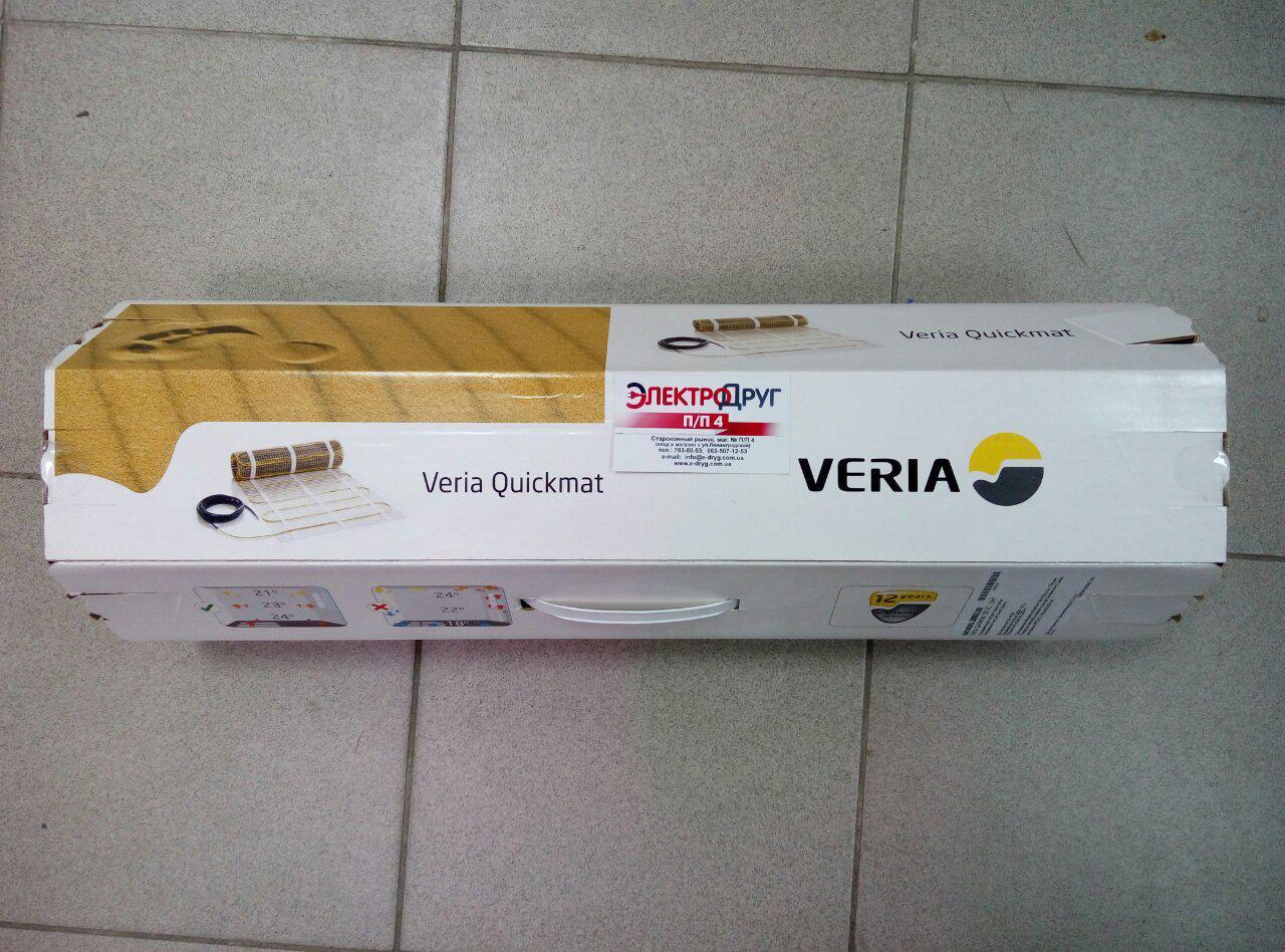 Нагрівальний мат Veria Quickmat 150 375 Вт (2.5 м2)