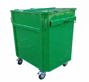 Мусорный контейнер ЕКП-1,1 под евромусоровоз