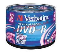 Диск VERBATIM DVD-R 4,7Gb 16x Cake 50 pcs 43548 (43548)
