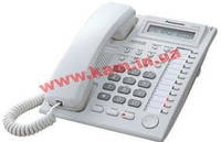 Системный телефон Panasonic KX-T7730 White (KX-T7730UA)