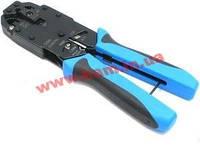 Инструмент GT профессиональный для обжимки 8P8C/ RJ-45 6P6C/ RJ-12 6P4C/ RJ-11 4P4C&4P2C (HT-2008A)