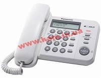 Проводной телефон Panasonic KX-TS2356UAW White АОН, Caller ID (память на 50 номеров) (KX-TS2356UAW)