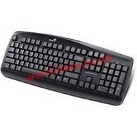 Клавиатура Genius KB110 USB Black CB Эргономичная клавиатура (104 стандартные клавиши) (31300700113)