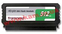 SSD-накопитель Transcend 512Mb IDE DOM 40pin SMI (TS512MDOM40V-S)