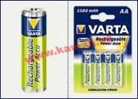 Аккумулятор Varta AA 2400mAh NiMh 4шт POWER ACCU (56756101404)