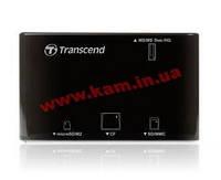 Картридер Transcend USB 2.0 Черный цвет. SDHC standard (TS-RDP8K)