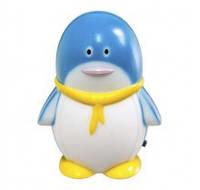 Ночной светодиодный синего света мини светильник Feron F1001 (Пингвин)