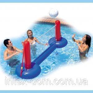 Надувной набор для водного волейбола с сеткой Intex 58502 киев