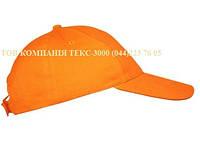 Кепка, оранжевая