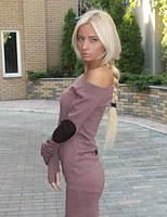 Женское Платье с латками опт-205грн. розница 255грн