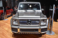 Накладки на бампера Mercedes G- class W463 Brabus