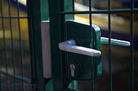 """ВОРОТА РАСПАШНЫЕ МЕТАЛЛИЧЕСКИЕ """"КЛАССИК"""" 2430х5000 с фурнитурой и упором Locinox , фото 1"""