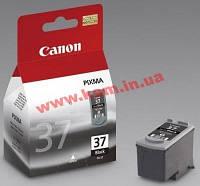 Картридж Canon PG-37Bk iP1800/ 2500 220 стр (А4) для PIXMA iP1800/ 2500 (2145B005)
