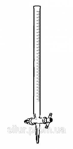 Бюретка мерная с градуировкой и прямым краном 100 мл