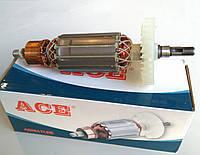 Якорь (ротор) для УШМ  DWT 125 L / DWT 125 LV (162*35 посадка 8 мм / шпонка)